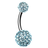 Classic Sparkling Belly Button Ring