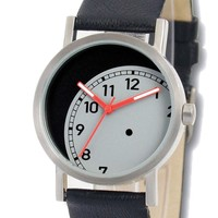 Lost Time watch in black by Projects Design