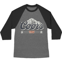 Coors Men's  Mountain Times Baseball Jersey Dark Navy/Arctic