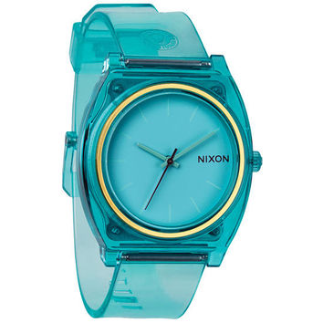 Nixon The Time Teller P Watch Translucent Mint One Size For Men 23425952301