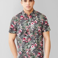 Lived In Floral Print Shirt