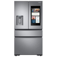 Samsung 22.6 cu. Ft. Family Hub 4-Door French Door Recessed Handle Smart Refrigerator in Stainless Steel, Counter Depth-RF23M8570SR - The Home Depot