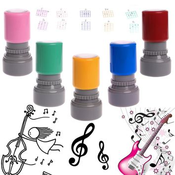 Free Shipping 1PC Guitar Ukulele Common Chord Stamp 6 String 3 Frets Rubber Stamps Drop Ship