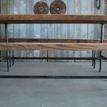 """Reclaimed Wood table. We make them to size specifications. 84"""" l x 34"""" w x 30""""  tall"""