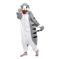 Sazac Tabby Cat Pajama Halloween Party Costume Set