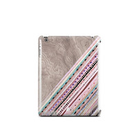 Stripey iPad Case Stripey iPad 2 Case Stripey iPad 3 Case Stripey iPad 4 Case Tablet Cover Cute iPad Case Pink iPad Case Print NOT REAL WOOD