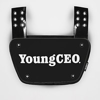 Young CEO Sticker for Back Plate