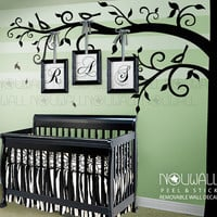 Corner Tree Wall Decal,Baby, nursery wall decal -Birds Wall decals, Wall Sticker home decor