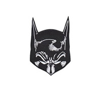 Batman Mask Iron-On Patch