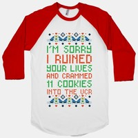 I'm Sorry I Ruined Your Lives and Crammed 11 Cookies in Your VCR