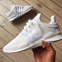 """""""Adidas"""" Equipment EQT Support ADV White Casual Sports Shoes"""