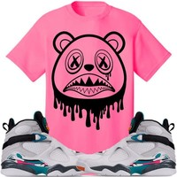BAWS DRIP Sneaker Tees Shirt to Match - Jordan 8 South Beach