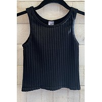 Night Out Top- Black