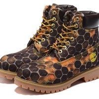 Timberland Classic honeycomb section anti-fatigue outdoor high school shoes boots