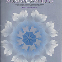 1991 Vintage Christmas Songs & Solos Book for Piano, Arrange Margaret Goldston, 33 Pages, Elementary to Early Intermed, Vintage Music Book