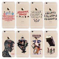 Stranger Things Christmas Lights Case For iphone 7 7Plus 6S 6Plus 5 5S SE Soft silicone TPU Phone Cases Back Cover Fundas Capa