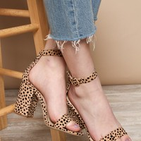 Hit The Spot Ankle Strap Heel