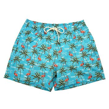 Flockstar Swim Trunks by Two Left Feet