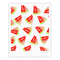 "Sreetama Ray ""Summer Fun"" Watermelon Fine Art Gallery Print"