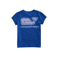 Girls Scallop Shell Whale Pocket Tee