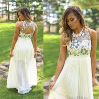 When The Magnolias Bloom Maxi Dress