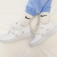 Nike Air Force 1 Low Fashionable casual cushioning board shoes