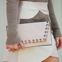 Treat Your Heart Clutch: Baby Pink