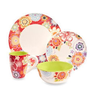 Floral Delight Dinnerware - Bed Bath & Beyond