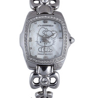 Hello Kitty by Chronotech White Dial Ladies Watch CT.7105LS/18M