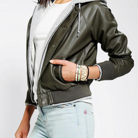 Urban Outfitters - OBEY Last Chance Bomber Jacket
