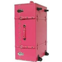The Sorority College Trunk - Cherry Pink - Dorm Trunk College Supplies Organize Stuff Girls