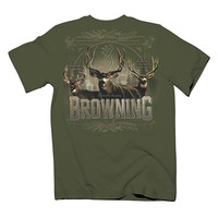 Browning Youth The Big Three Short Sleeve T-Shirt