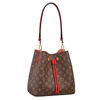 Louis Vuitton Monogram Canvas Neonoe Adjustable Strap Handbag Article:M44021 Made in France