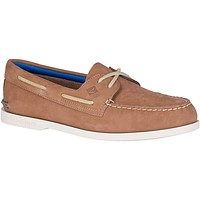 Men's Authentic Original 2-Eye Plush Washable Boat Shoe by Sperry