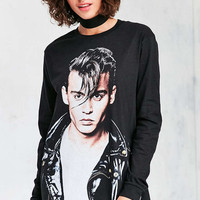 Johnny Depp Long-Sleeve Tee - Urban Outfitters