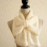 Big bow statement scarf NEW FOR 2012