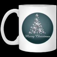 Christmas Mug - Tree Of Stars - Christmas Coffee Mug