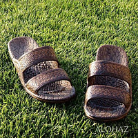 dark brown classic jandals® -  pali hawaii Jesus sandals