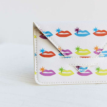 Psychedelic Icon Print Cardholder - Urban Outfitters