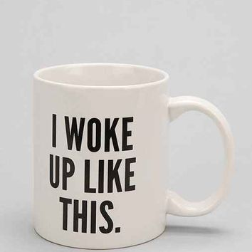 I Woke Up Like This Mug Black Amp White From Urban Outfitters