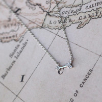 Dainty Arrow Necklace from Tinley Rose Accessories