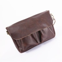 Korean Casual One Shoulder Men Bags Vintage Ppurses Messenger Bags [6542459139]