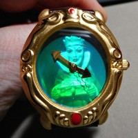 Disney Evil Queen Snow White Holographic Watch 1993 Never Used Working Excellent
