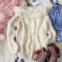 Fraser Fur Knit Sweater