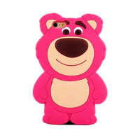 Pink Teddy Bear Case - iPhone 6