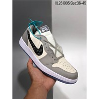 Nike Air Jordan 1 Low cheap fashion Mens and womens sports shoes