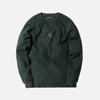 Kith x Bergdorf Goodman L/S Tee - Forest Green