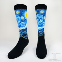 Starry Night Men's SOCKS