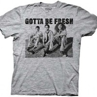 Workaholics Gotta Be Fresh Heathered Gray Adult T-shirt - Workaholics -   TV Store Online