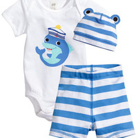 3PCS Cartoon Baby clothing Set Cotton Newborn Baby Romper Set Children Kids costume Infant Girls Boys clothes set Summer